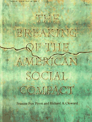 The Breaking of the American Social Compact: Frances Fox Piven