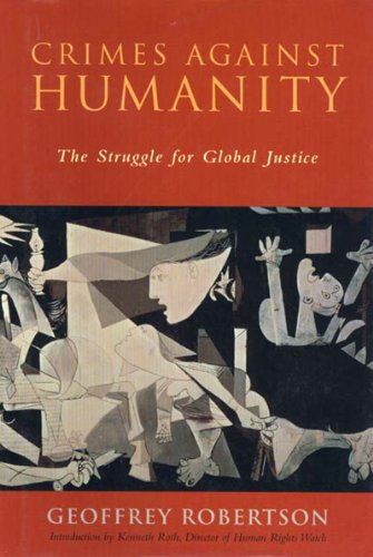 9781565846685: Title: Crimes Against Humanity The Struggle for Global Ju