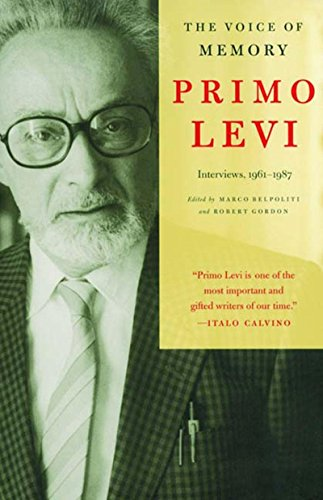 The voice of memory : interviews, 1961-87: Levi, Primo.