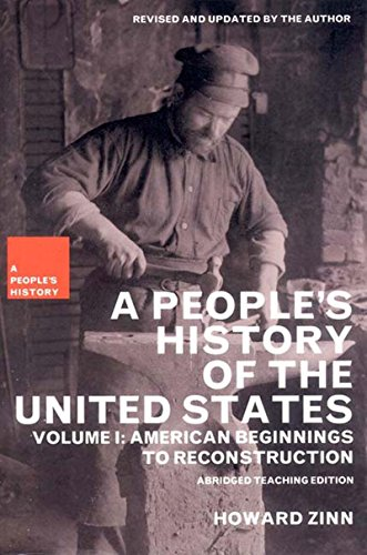 9781565847248: A People's History of the United States: American Beginnings to Reconstruction (New Press People's History)