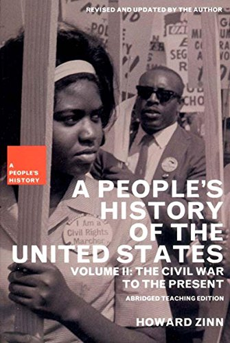 a comparison of a peoples history of the united states by howard zinn and oxford history of the amer