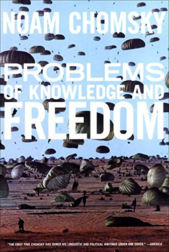 Problems Of Knowledge And Freedom (Paperback): Noam Chomsky