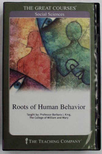 9781565850095: Roots of Human Behavior [UNABRIDGED] (The Great Courses)