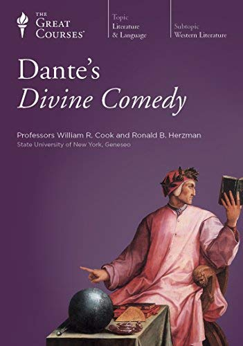 The Teaching Company: Dante's Divine Comedy 12 Audio Cds with Course Outline Booklet (The Great C...
