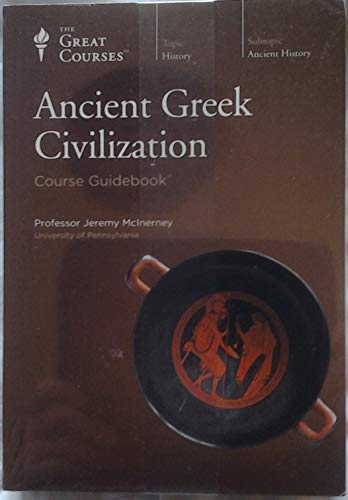 Ancient Greek Civilization CD Course The Teaching Company (The Great Courses): Jeremy McInerney