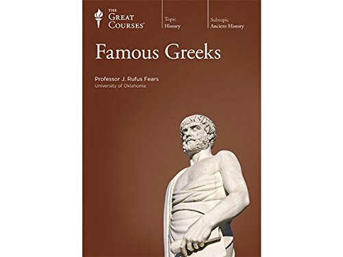 Famous Greeks CD - The Teaching Company (The Great Courses): J. Rufus Fears