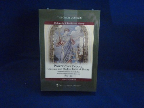 9781565853461: Power over People CDs - Classical and Modern Political Theory - The Teaching Company (The Great Courses)