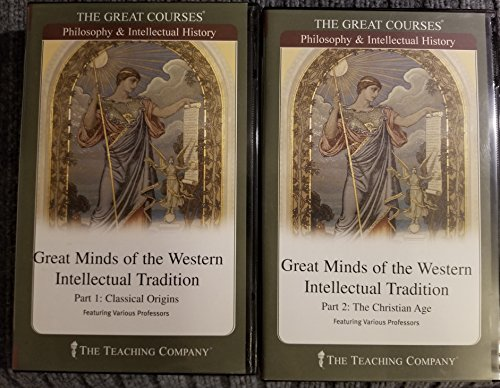 9781565853546: The Great Courses: Great Minds of the Western Intellectual Tradition, 3rd Edition,CD audio volume 1 to 7