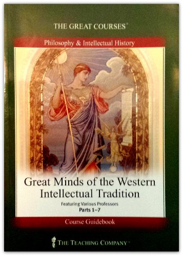 9781565855144: Great Minds of the Western Intellectual Tradition (The Great Courses)