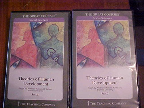 9781565855403: The Great Courses: Theories of Human Development (2 Parts)
