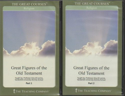 9781565855465: Great Figures of the Old Testament : Parts 1 & 2, Includes 12 Audio CD's and 2 Course Guidebooks (The Great Courses : Religion)