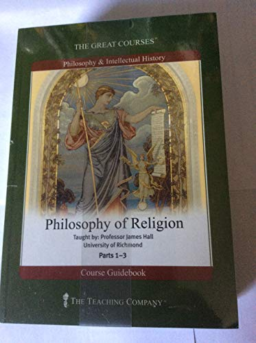 9781565856028: The Great Courses: Philosophy of Religion