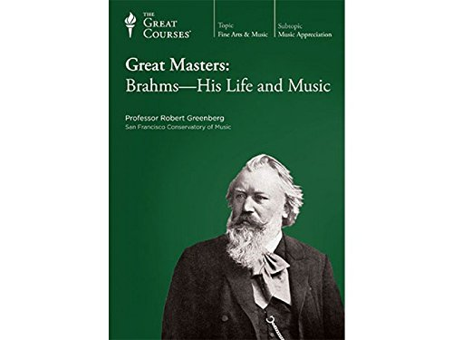9781565856820: Great Masters: Brahms-His Life and Music