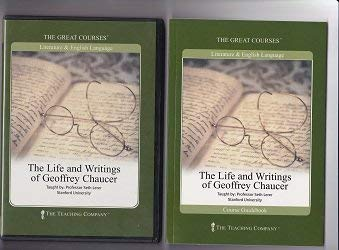 9781565857131: Life and Writings of Geoffrey Chaucer CD Course (The Great Courses)