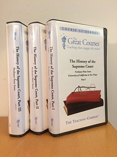 9781565857506: The History of the Supreme Court (The Great Courses Modern History)