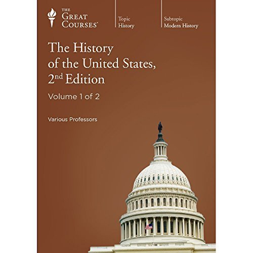 The Great Courses: The History of the United States, 2nd Edition (1565857615) by Allen C. Guelzo; Gary W. Gallagher; Patrick N. Allitt