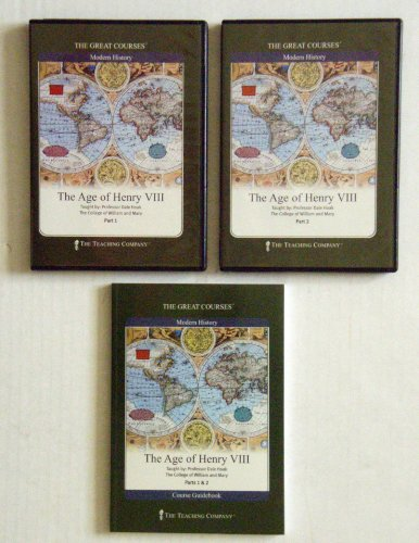 9781565857773: The Age of Henry VIII (The Great Courses - Modern History)