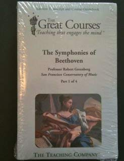 9781565858213: The Symphonies of Beethoven (The Great Courses, Volumes 1, 2, 3, 4)