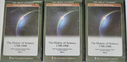 The History of Science 1700-1900 complete with CDs. The Great Courses: Science & Mathematics.: ...