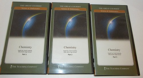 Chemistry (The Great Courses: Science and Mathmatics),