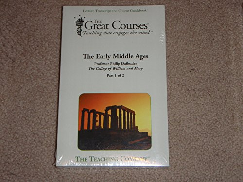 9781565859166: The Early Middle Ages; Transcripts and Guidebook (Great Courses) (Teaching Company) (Course Number 8267 Books only)