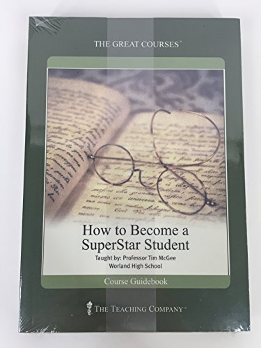 9781565859715: How to Become a SuperStar Student (The Great Courses Literature & English Language)