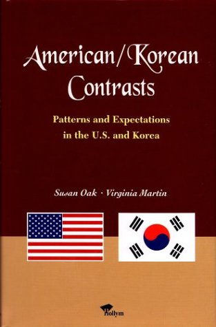 9781565910737: American/Korean Contrasts