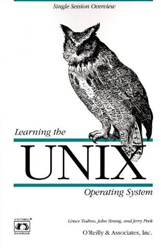 9781565920606: Learning the UNIX Operating System (Nutshell Handbooks)