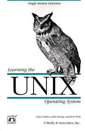 9781565920606: Learning the UNIX Operating System (Nutshell Handbooks)