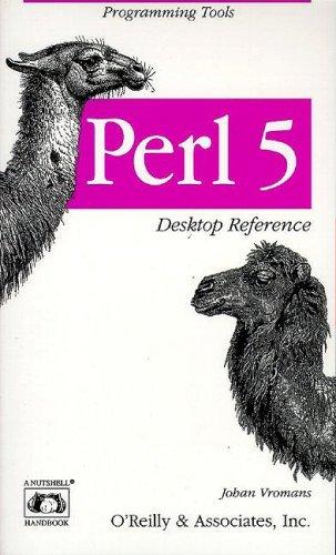 9781565921870: Perl 5 Desktop Reference (A Nutshell handbook)