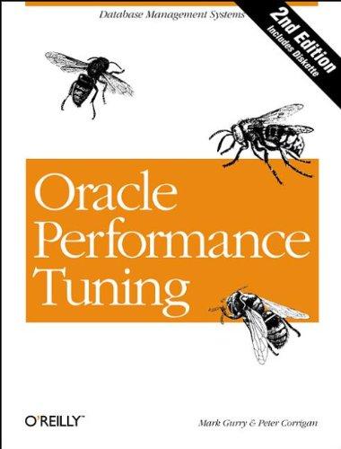 9781565922372: Oracle Performance Tuning: Database Management Systems (Nutshell Handbooks)