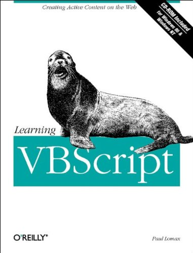 Learning VBScript: Paul Lomax