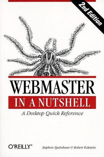 9781565923256: Webmaster in a Nutshell (Nutshell Handbook)