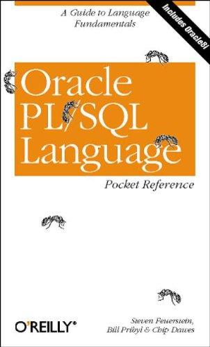 9781565924574: Oracle PL/SQL Language Pocket Reference (en anglais)