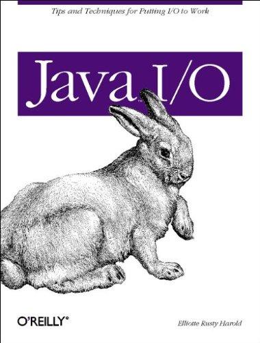 9781565924857: Java I/O (Java Series)