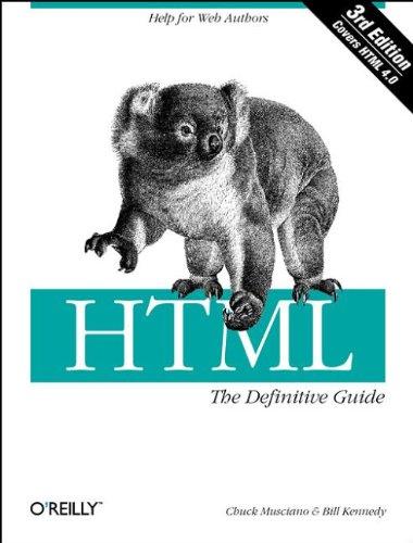 9781565924925: HTML: The Definitive Guide (Classique Us)