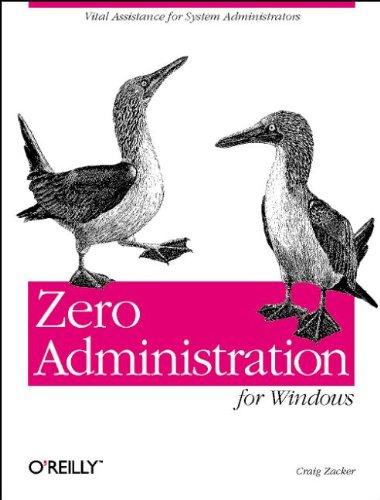 9781565925083: Zero Administration for Windows