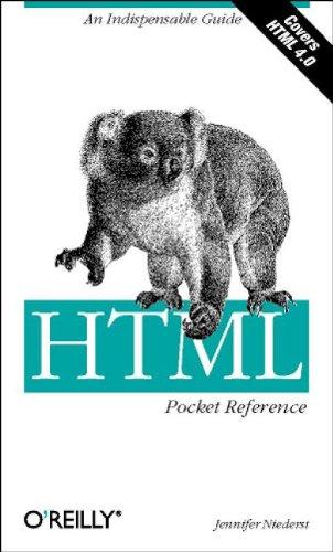 9781565925793: HTML Pocket Reference (Pocket Reference (O'Reilly))