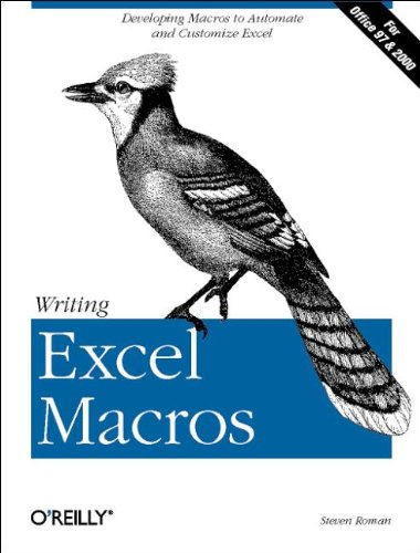 9781565925878: Writing Excel Macros: Automating Excel to Work for You