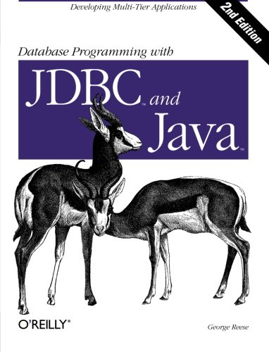 9781565926165: Database Programming with JDBC & Java (The java series)