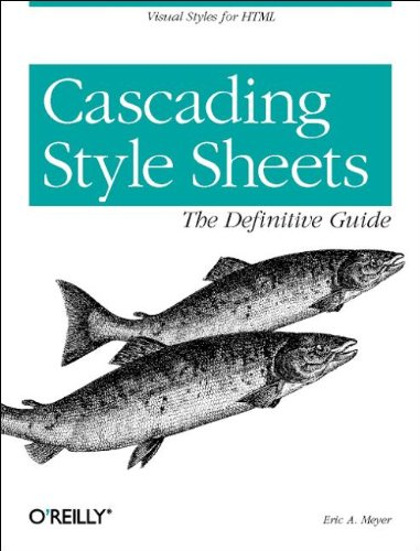 9781565926226: Cascading Style Sheets: The Definitive Guide (Classique Us)