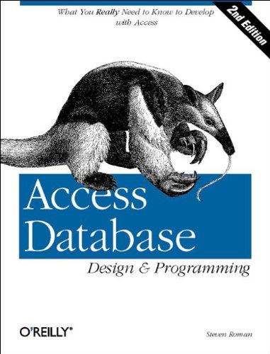 9781565926264: Access Database Design and Programming