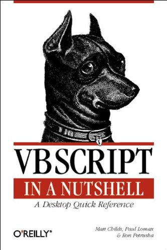 9781565927209: VBScript in a Nutshell: A Desktop Quick Reference