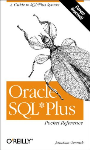 9781565929418: Oracle SQL*Plus Pocket Reference