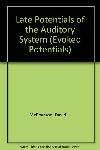 9781565931633: Late Potentials of the Auditory System (Special Publication)