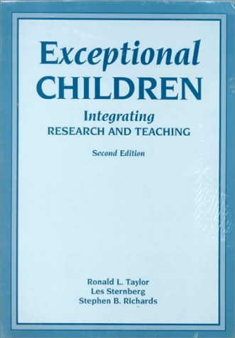 9781565932722: Exceptional Children: Integrating Research and Teaching