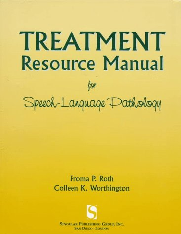 9781565936362: Treatment Resource Manual for Speech-Language Pathology