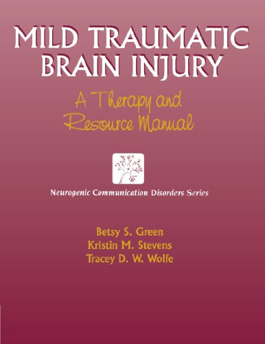 9781565938274: Mild Traumatic Brain Injury: A Therapy and Resource Manual (Neurogenic Communication Disorders)