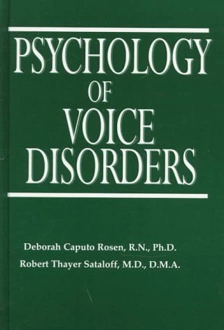 9781565938397: Psychology of Voice Disorders