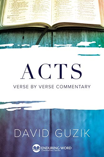 9781565990470: Commentary on Acts (Enduring Word Commentary)